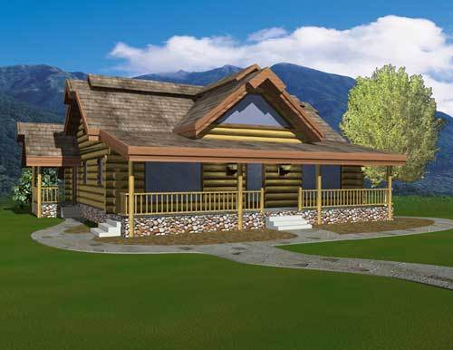Floor Plan Avalon Log Homes