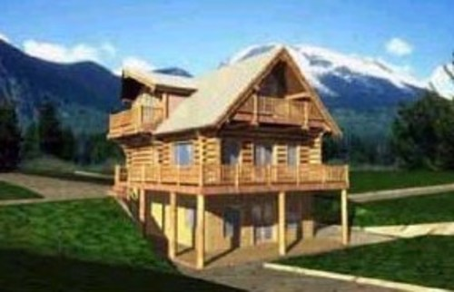 LOG CABINS IDEAS