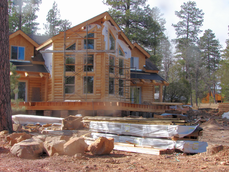 log home construction Log cabins conjure up the image of a simpler time when family, friends, and the land meant something to settlers however, in modern times, we want our log cabins built with the.